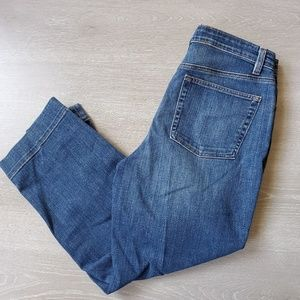 Eileen Fisher Cropped Jeans Size 12